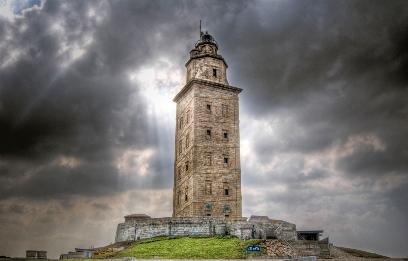Ла-Корунья, маяк