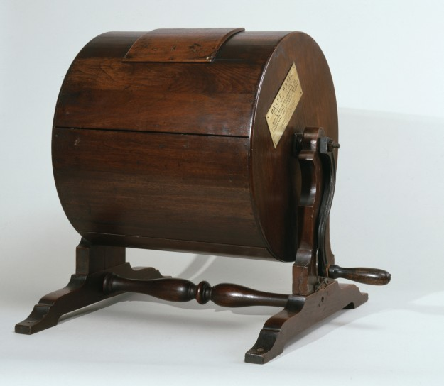 Лотерейный барабан образца 1837 года