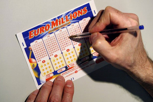 Билет лотереи Euro Millions